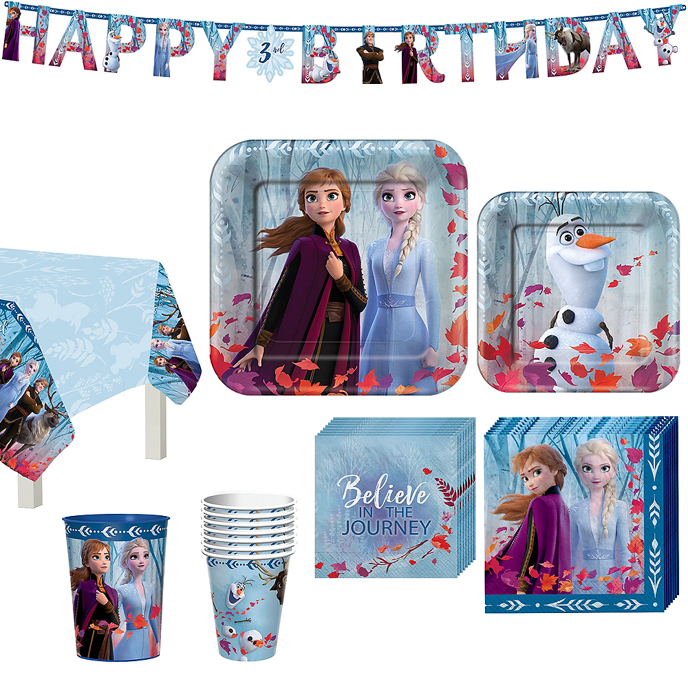 Frozen 2 Tableware Kit for 8 Guests Image #1