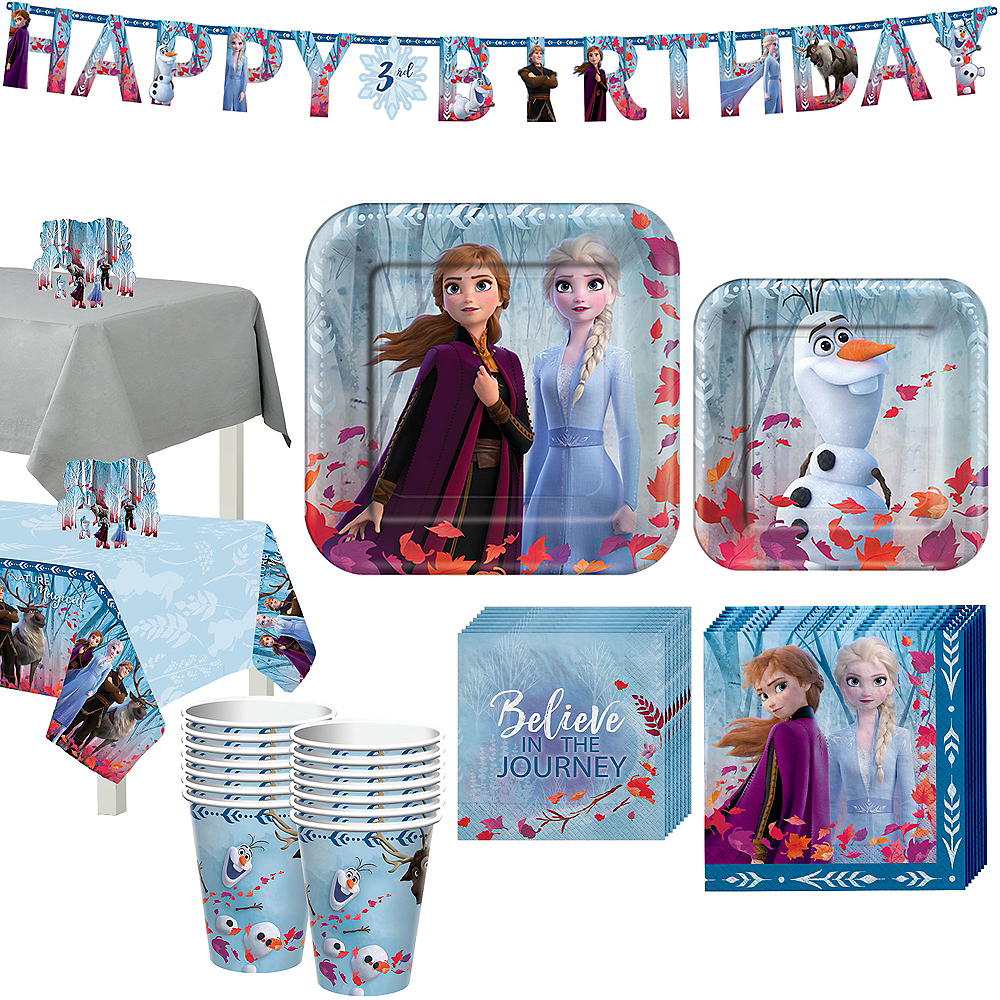 Frozen 2 Tableware Kit for 16 Guests Image #1