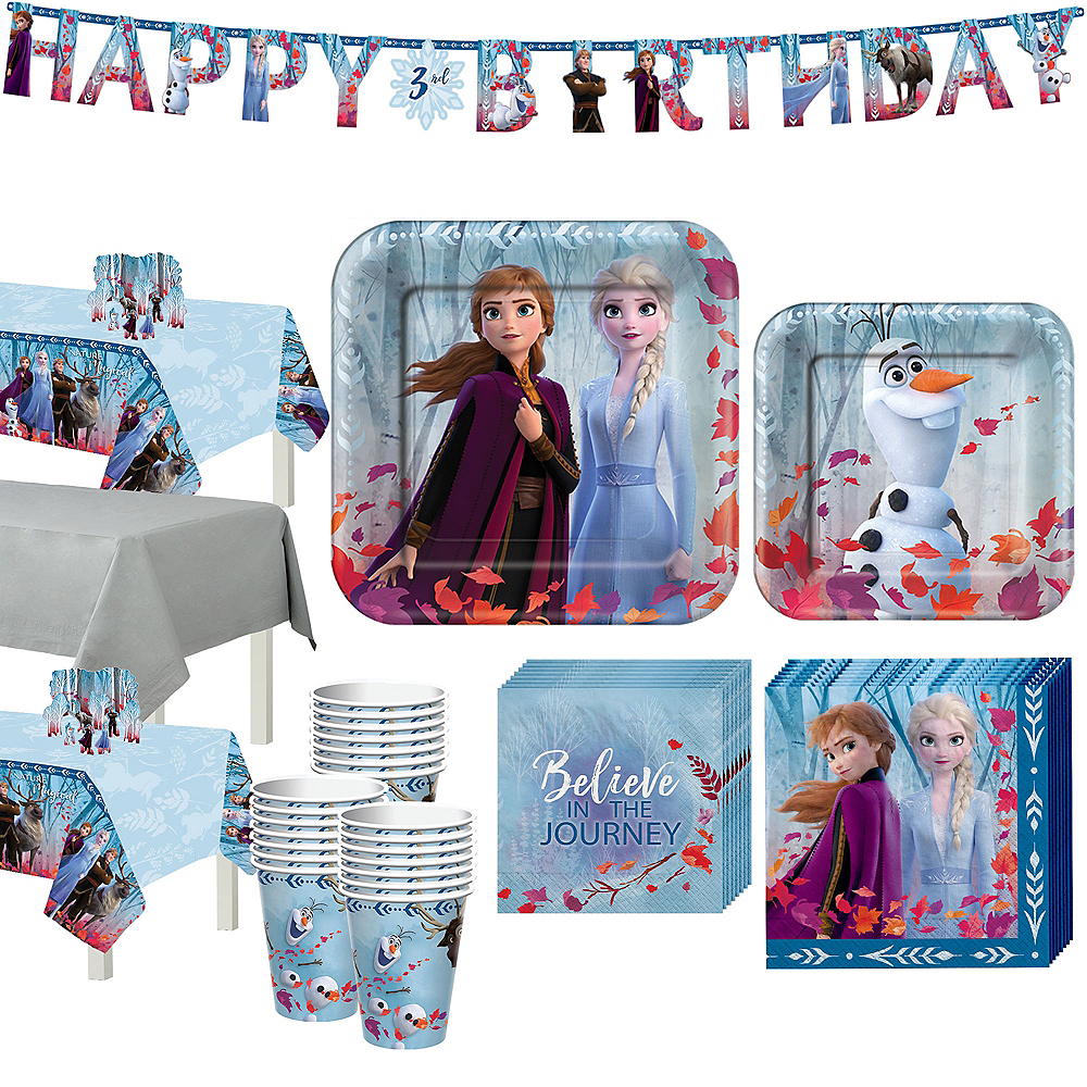 Frozen 2 Tableware Kit for 24 Guests Image #1