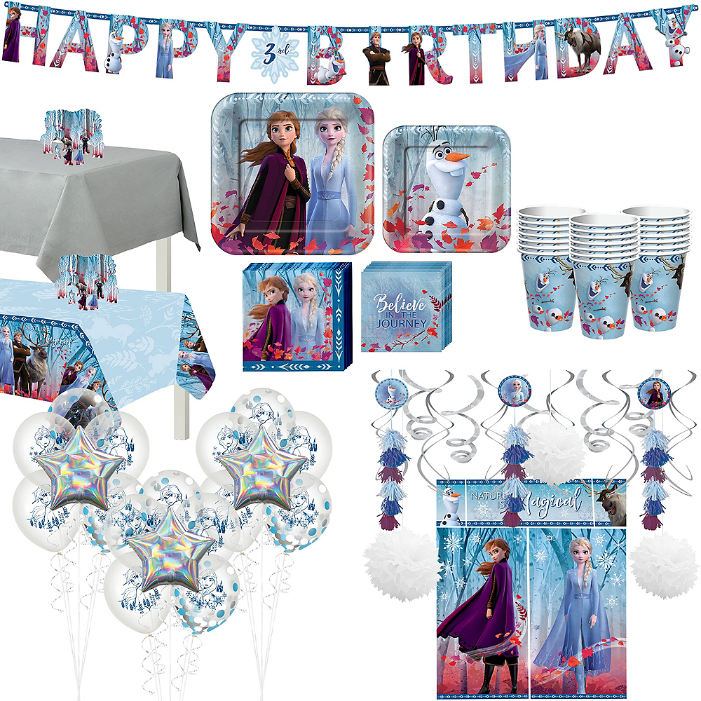 Ultimate Frozen 2 Party Kit for 16 Guests Image #1