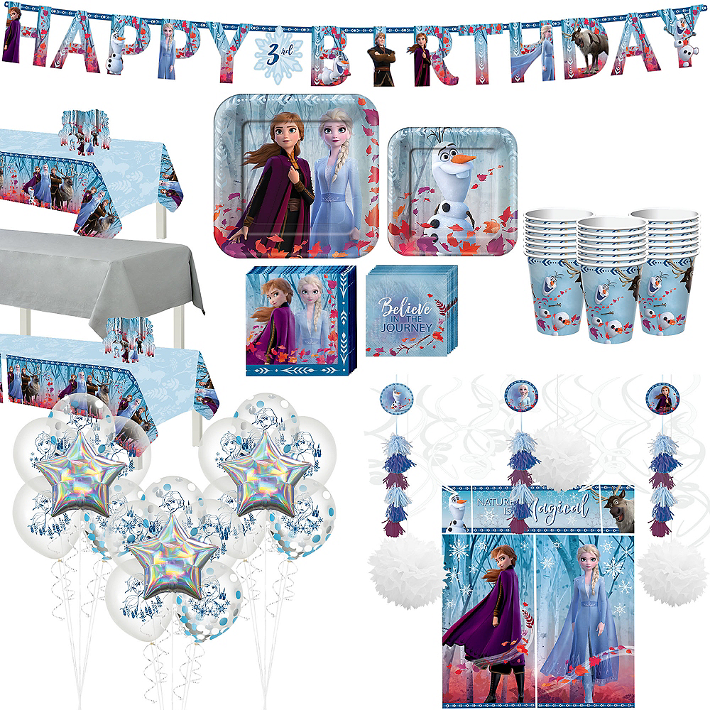 Ultimate Frozen 2 Party Kit for 24 Guests Image #1