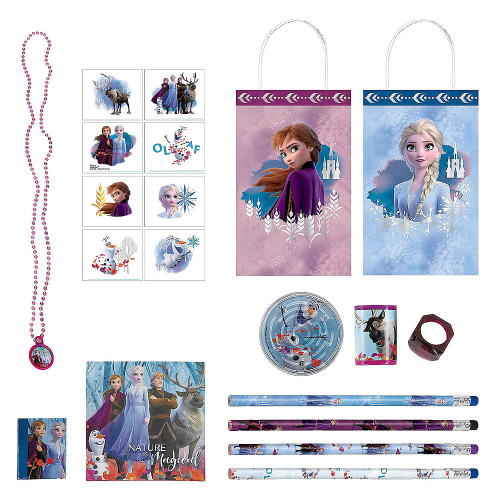 Frozen 2 Favor Kit for 8 Guests Image #1