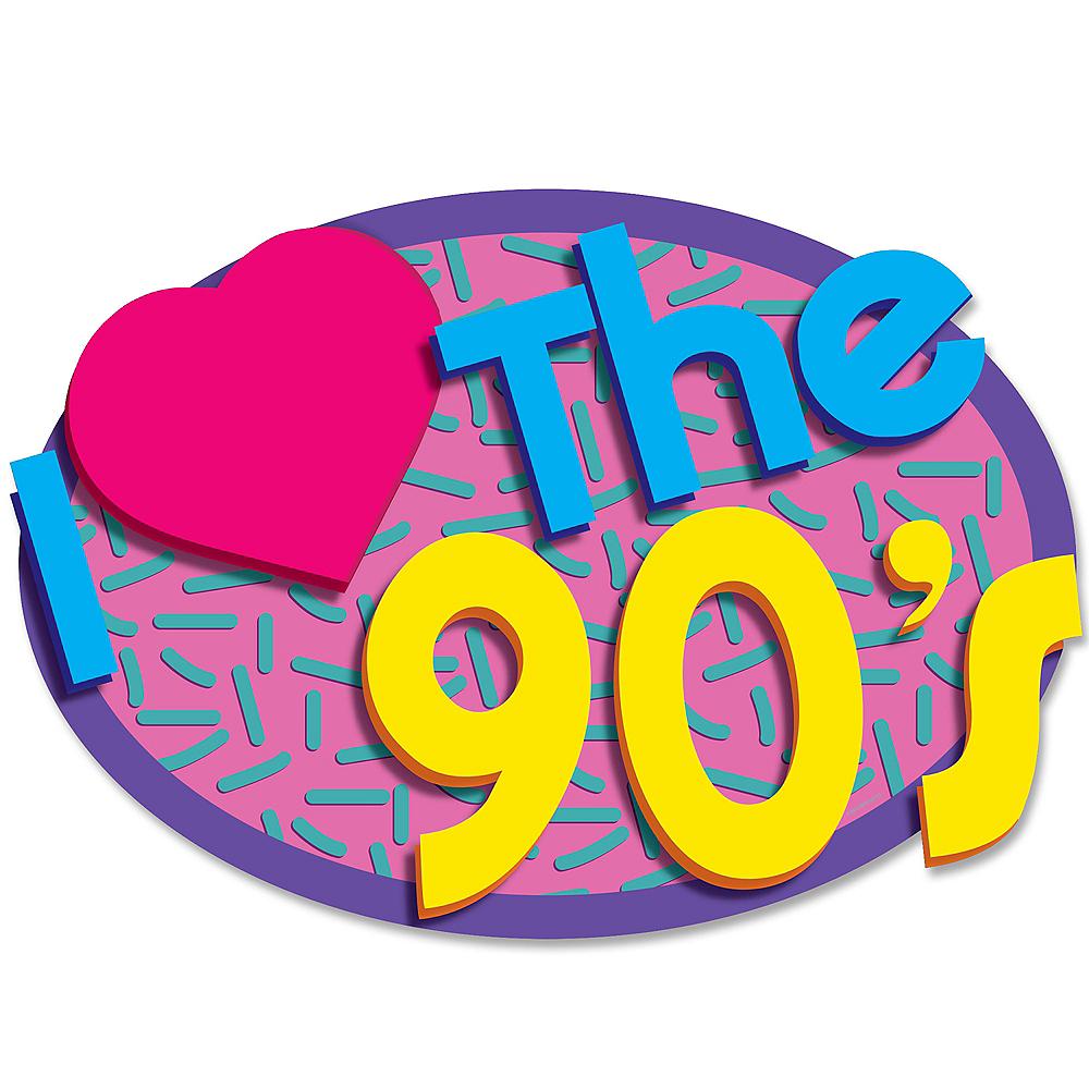 Love the 90s Cutouts 2ct Image #1
