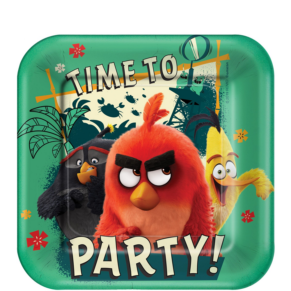 Angry Birds Tableware Kit for 8 Guests Image #2