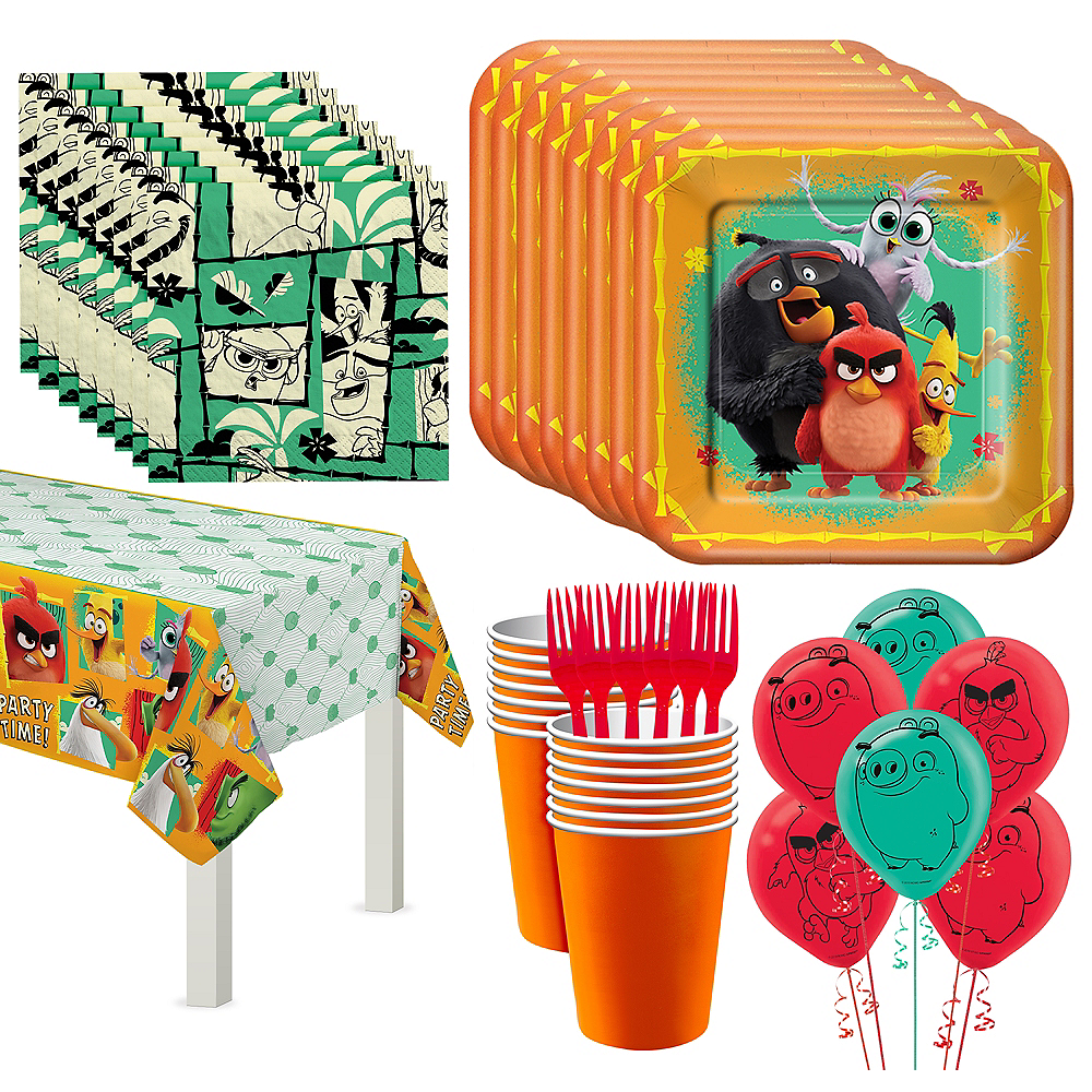 Angry Birds Tableware Kit for 16 Guests Image #1