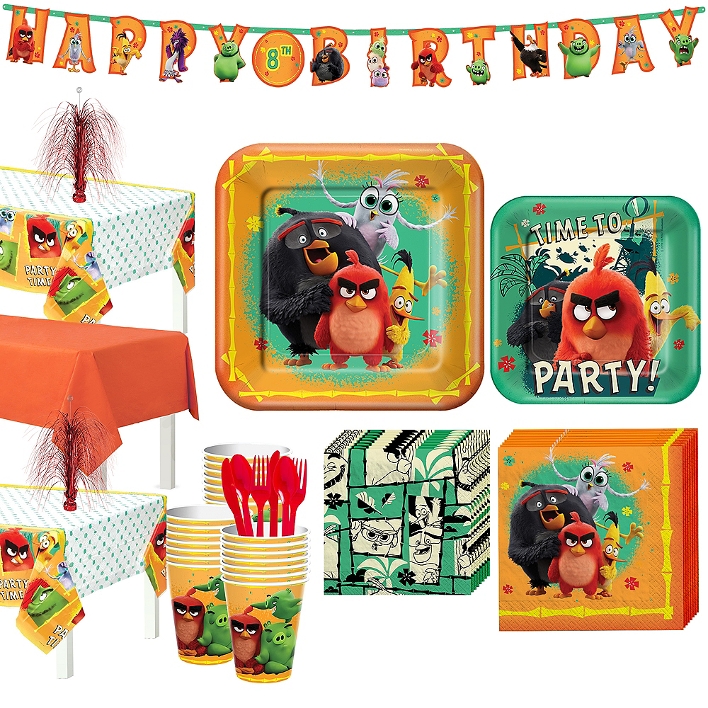 Angry Birds Tableware Kit for 24 Guests Image #1