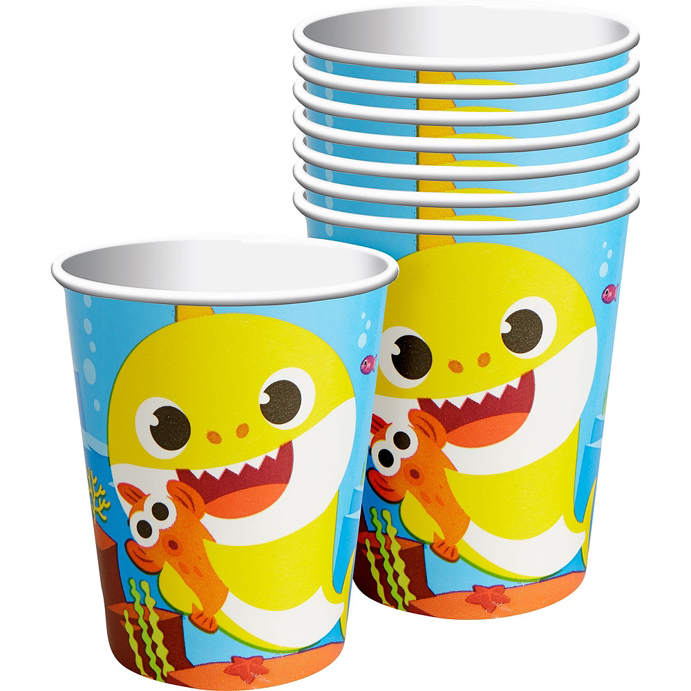 Baby Shark Birthday Party Tableware Kit for 8 Guests Image #6