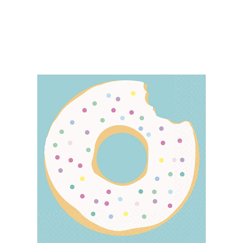 Donut Party Tableware Kit for 16 Guests Image #2