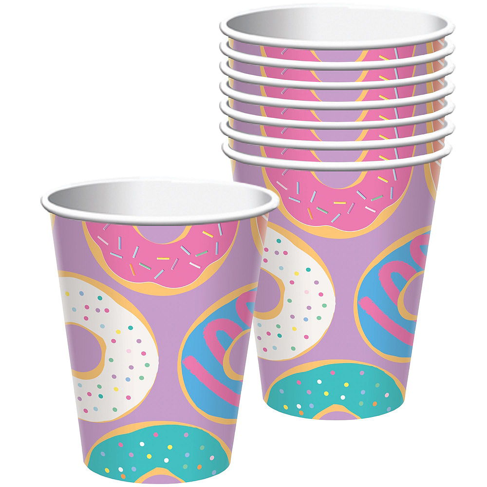 Donut Party Tableware Kit for 24 Guests Image #3
