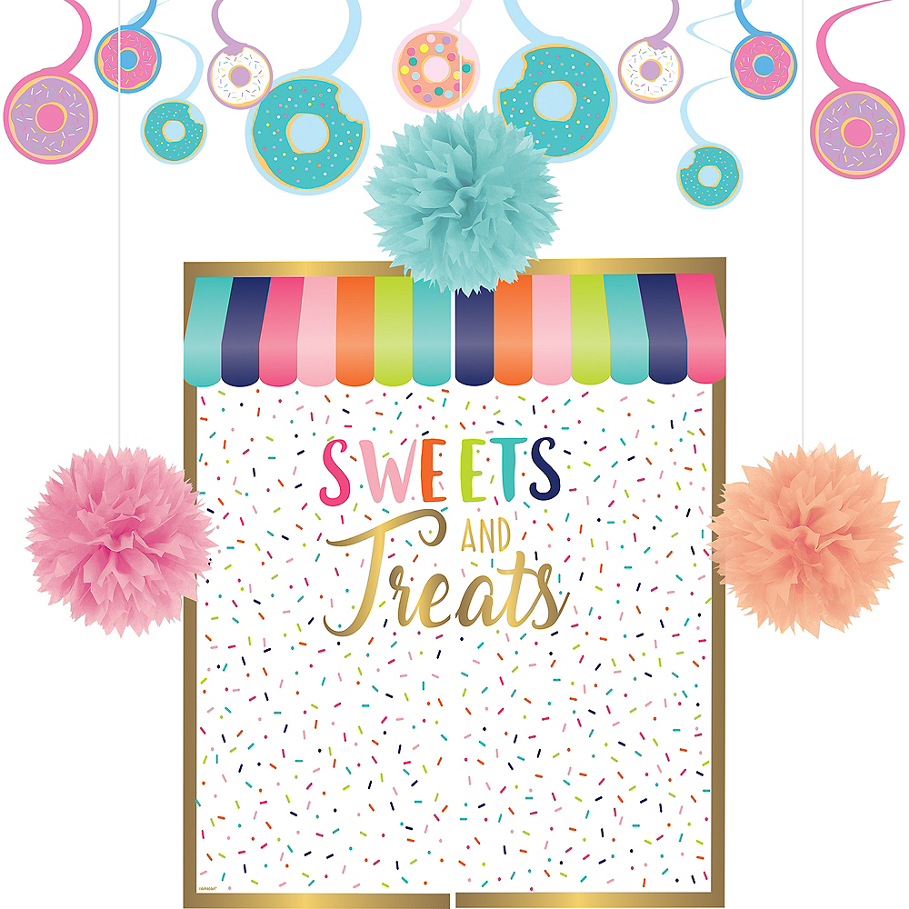 Donut Party Decorating Kit Image #1