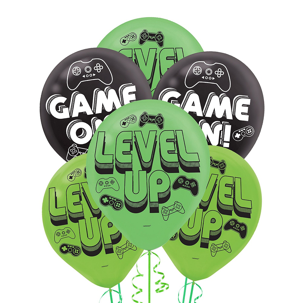 Level Up Balloon Bouquet 17pc Image #2