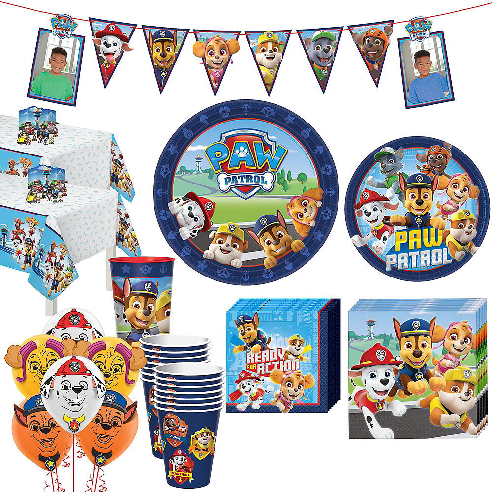 PAW Patrol Adventure Tableware Kit for 16 Guests Image #1