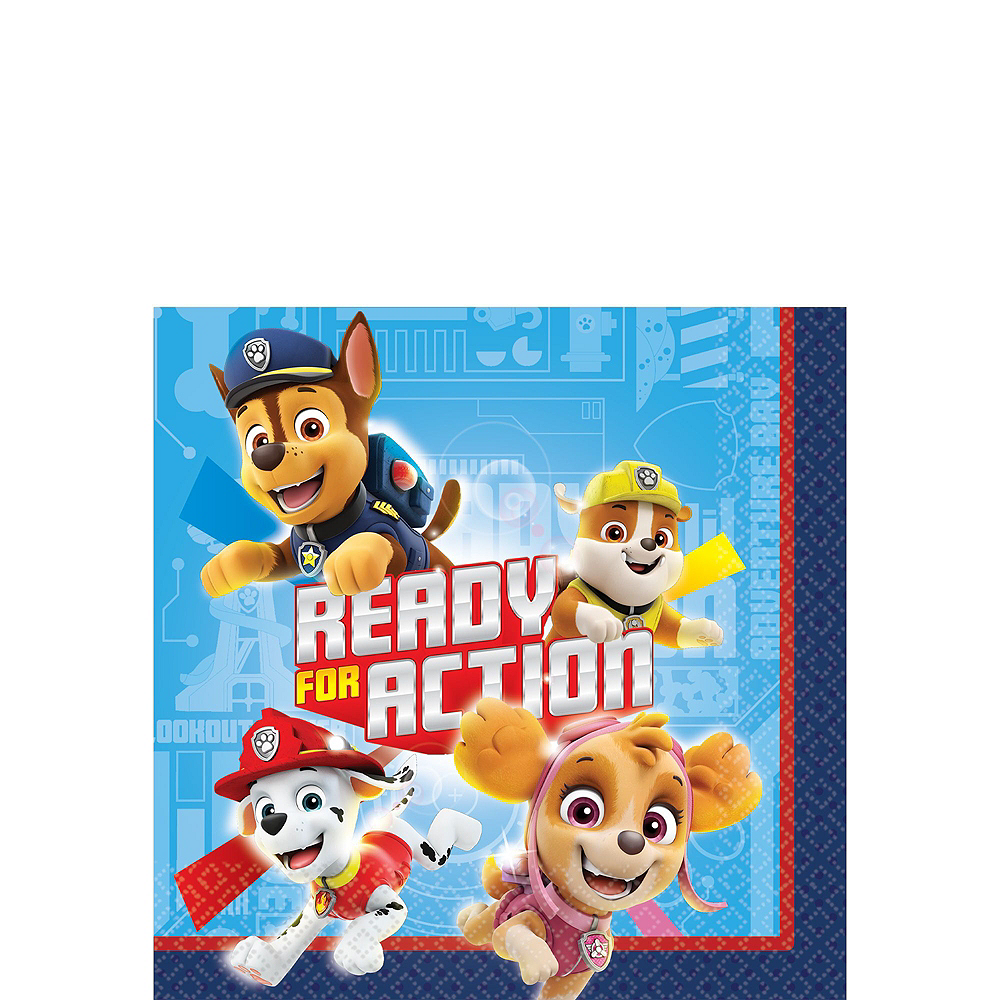 PAW Patrol Adventure Tableware Kit for 16 Guests Image #4