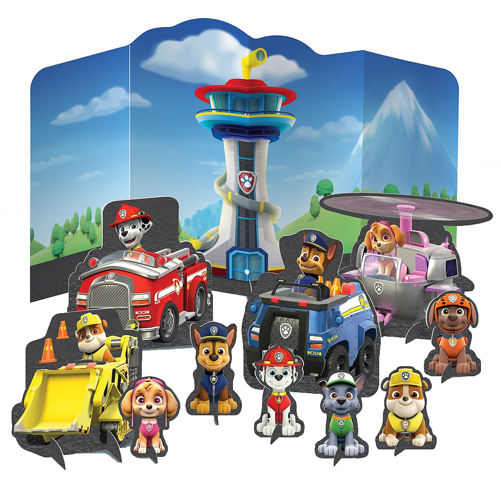 PAW Patrol Adventure Tableware Kit for 16 Guests Image #10