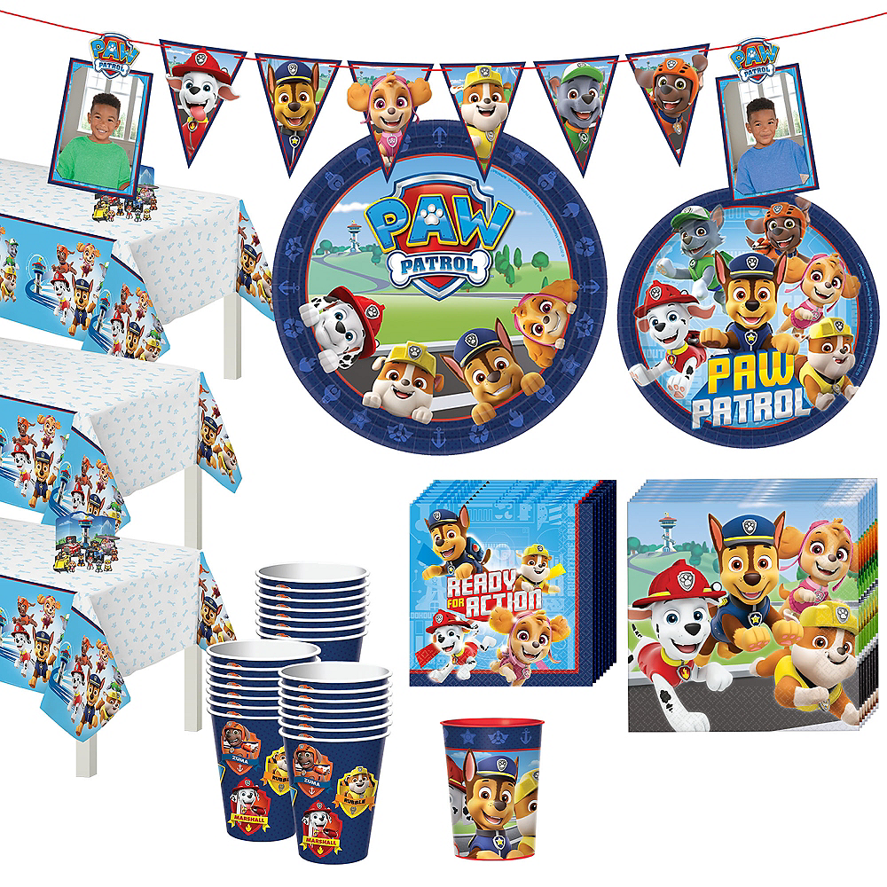 PAW Patrol Adventure Tableware Kit for 24 Guests Image #1