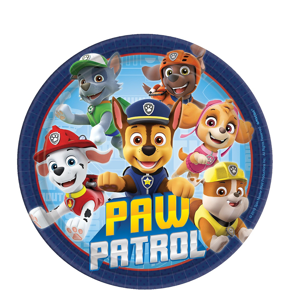 PAW Patrol Adventure Tableware Kit for 24 Guests Image #2