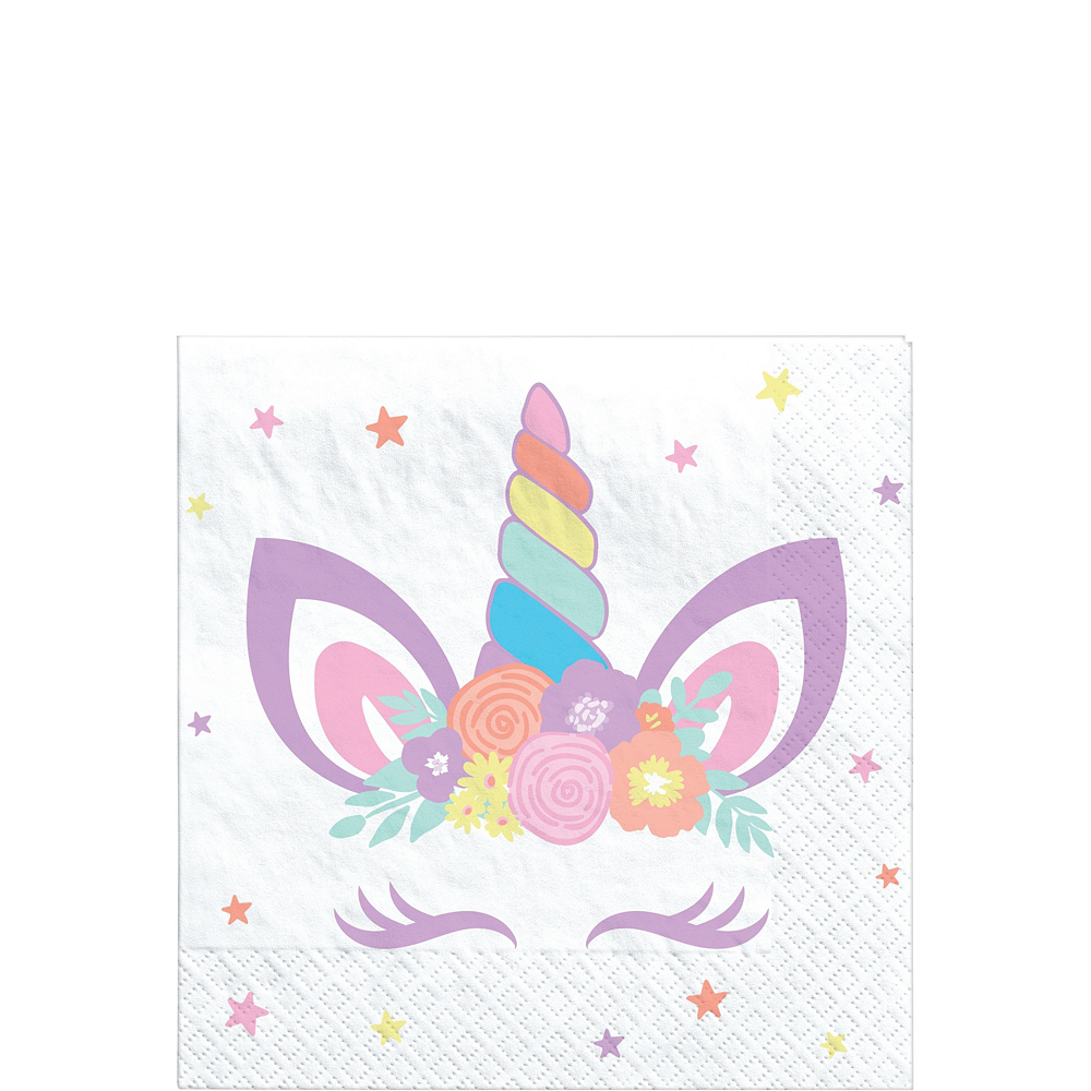 Unicorn Party Tableware Kit for 8 Guests Image #4