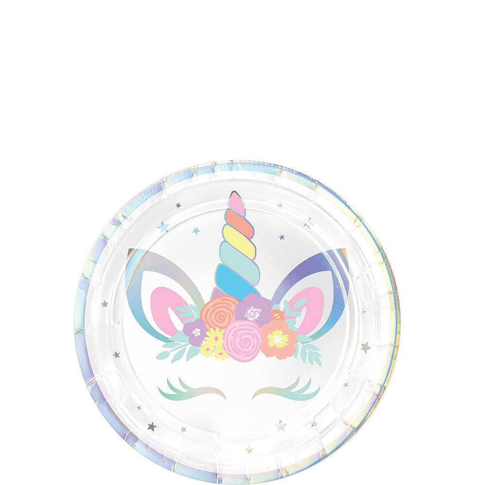Unicorn Party Tableware Kit for 16 Guests Image #2