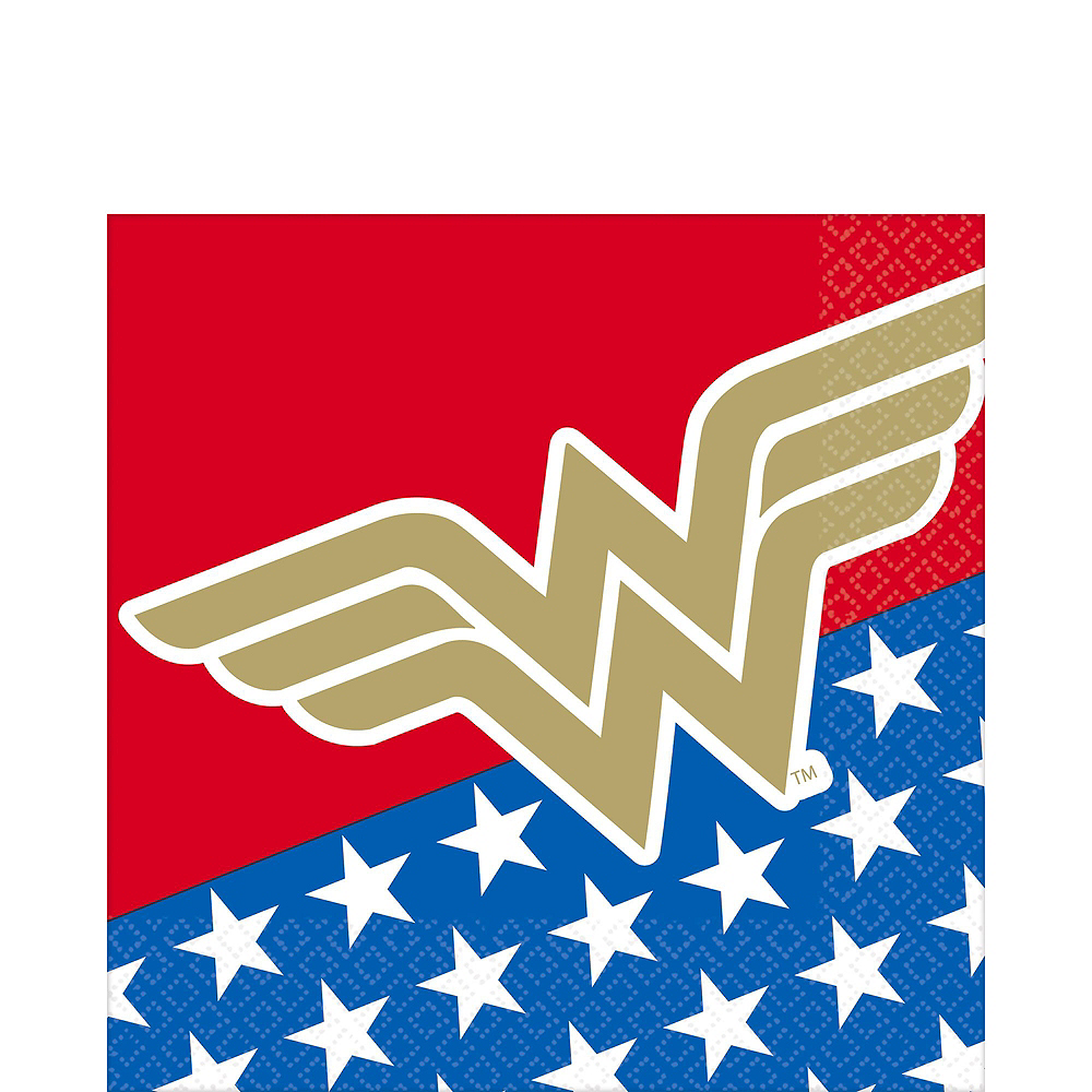Wonder Woman Tableware Kit for 16 Guests Image #5