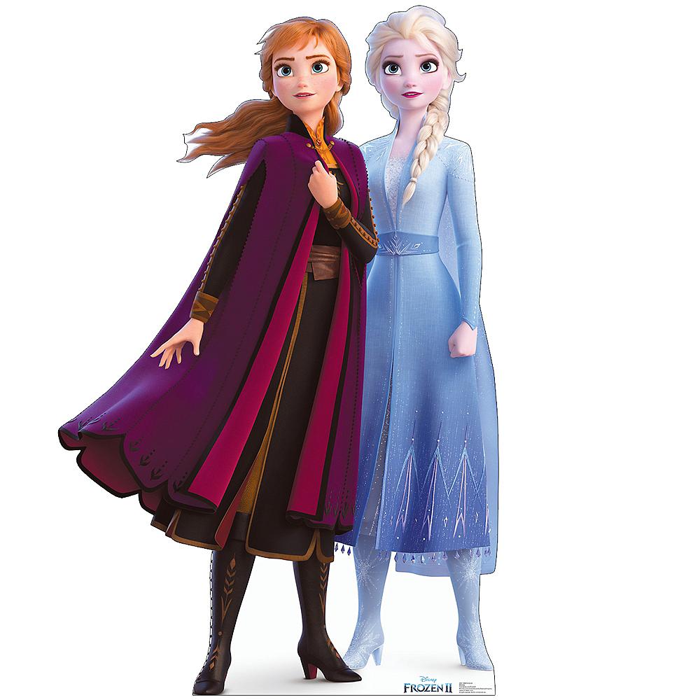 Anna Elsa Life Size Cardboard Cutout 45in X 70in Frozen 2
