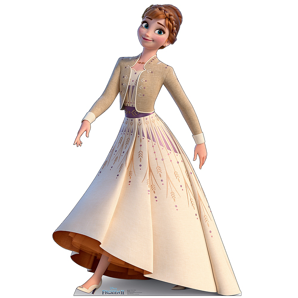 Collector's Edition Anna Life-Size Cardboard Cutout - Frozen 2 Image #1