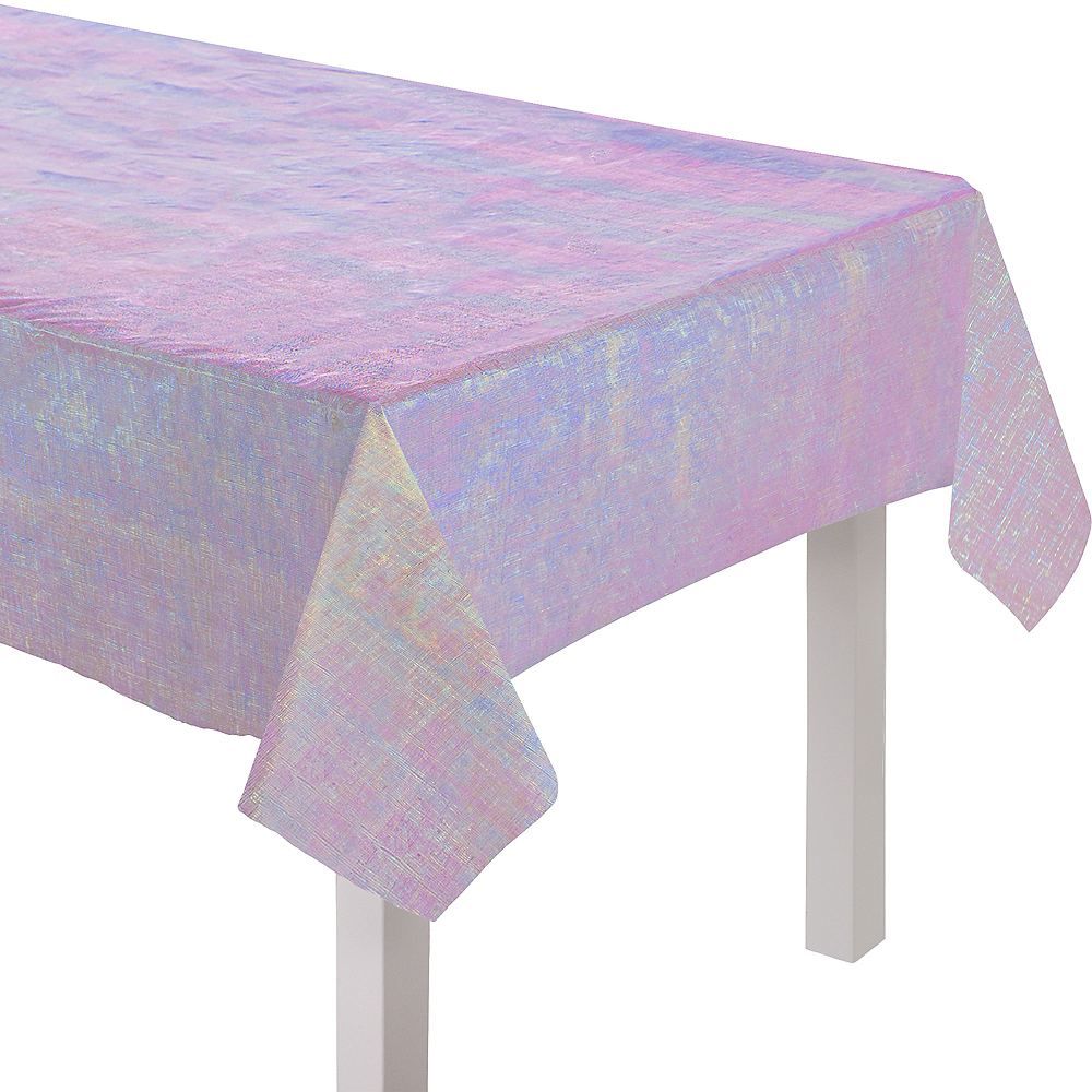 Pretty Pastels Opalescent Table Cover Image #1