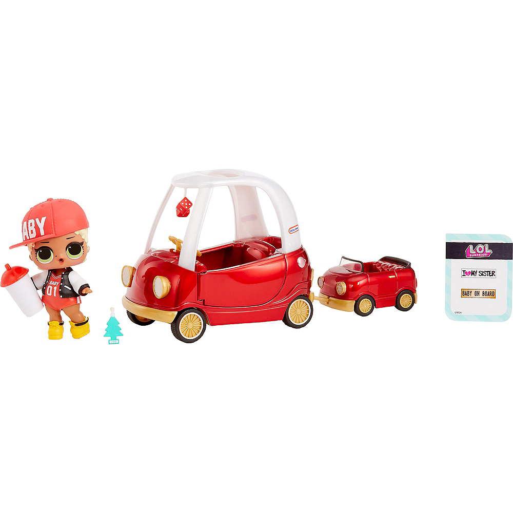 L.O.L. Surprise Furniture Packs Cozy Coupe with MC Swag Image #1