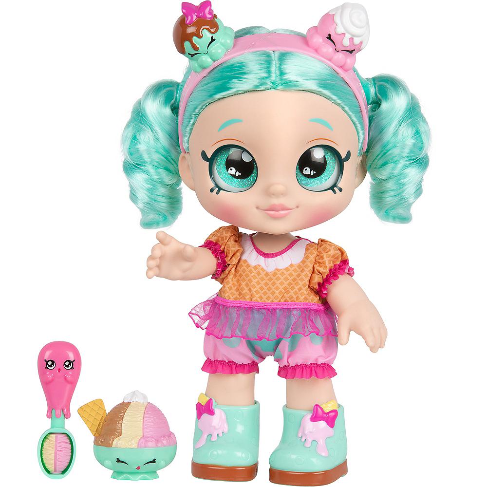 Kindi Kids Snack Time Friends, Pre-School Doll - Peppa-Mint Image #1