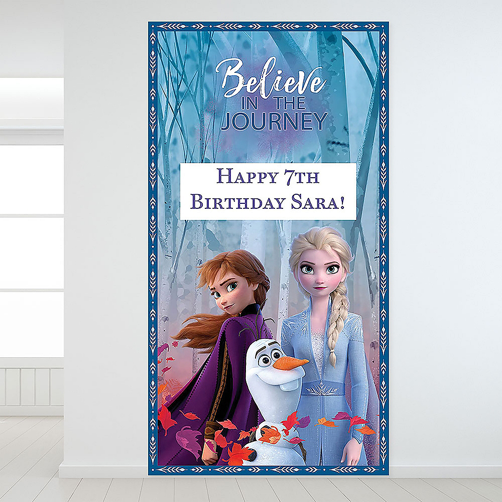 Custom Frozen 2 Backdrop Image #1