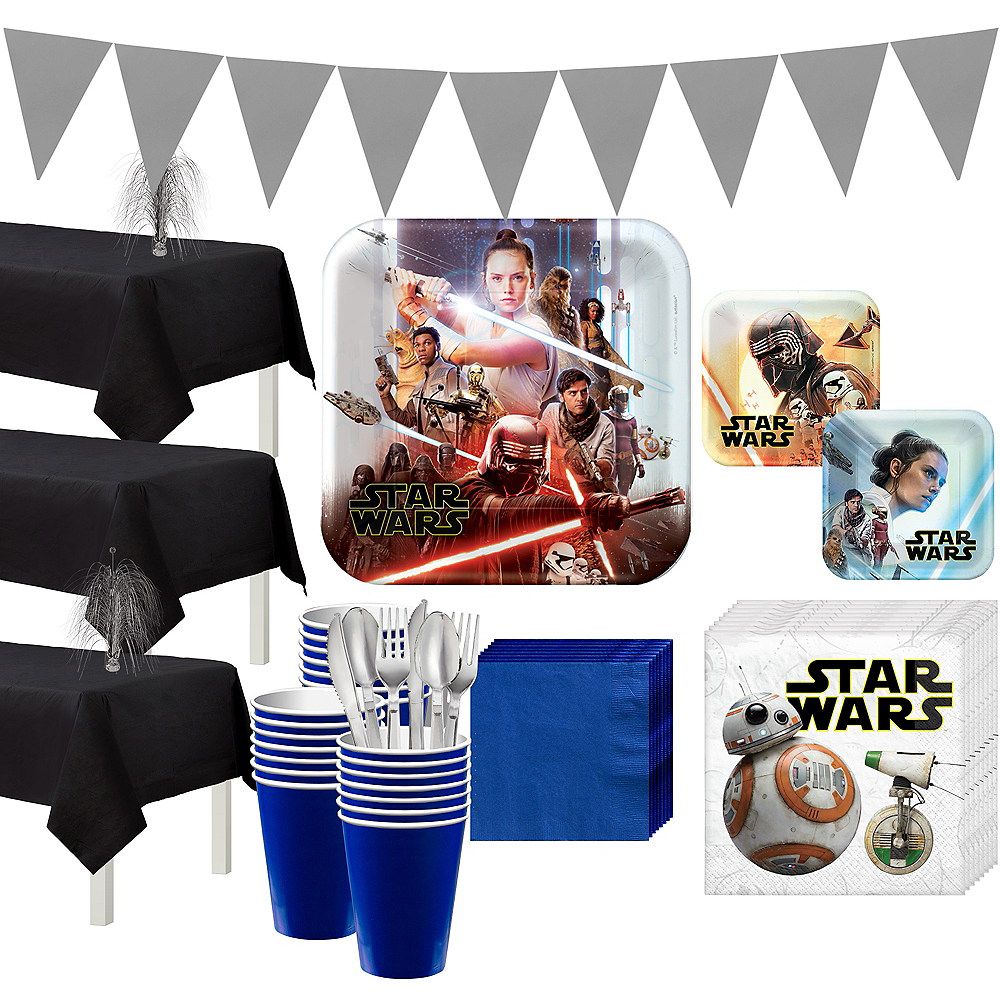 Star Wars 9 The Rise of Skywalker Tableware Kit for 24 Guests Image #1