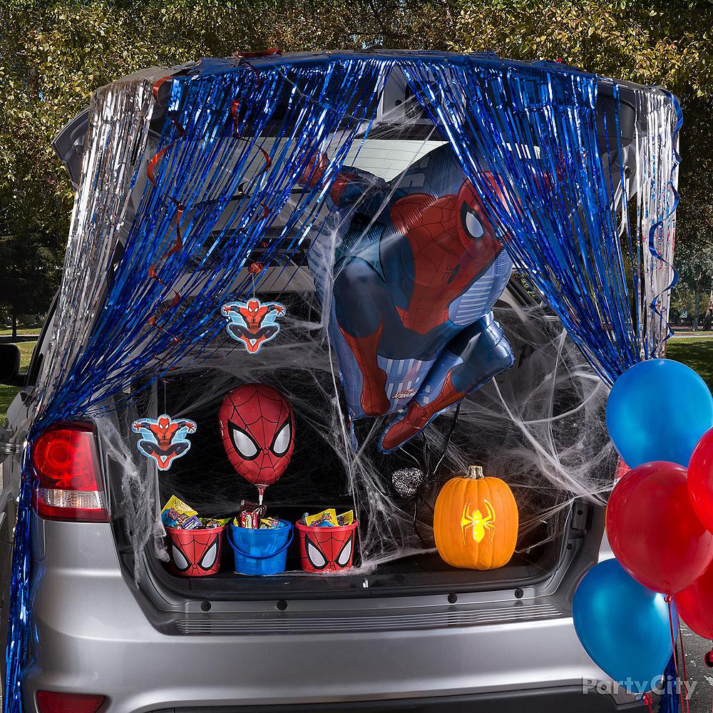 Spider Hero Trunk-or-Treat Car Decorating Kit Image #1