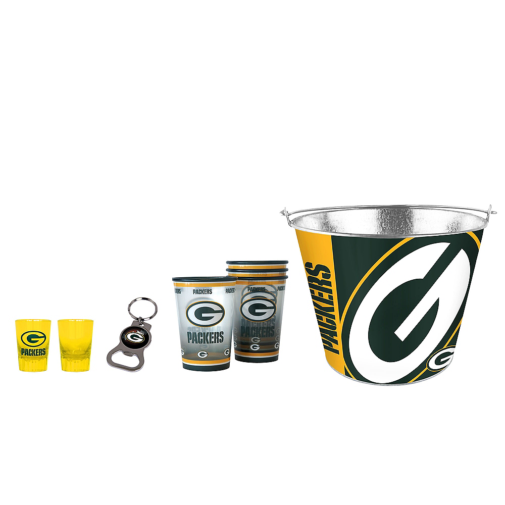 Green Bay Packers Drinkware Tailgate Kit Image #1