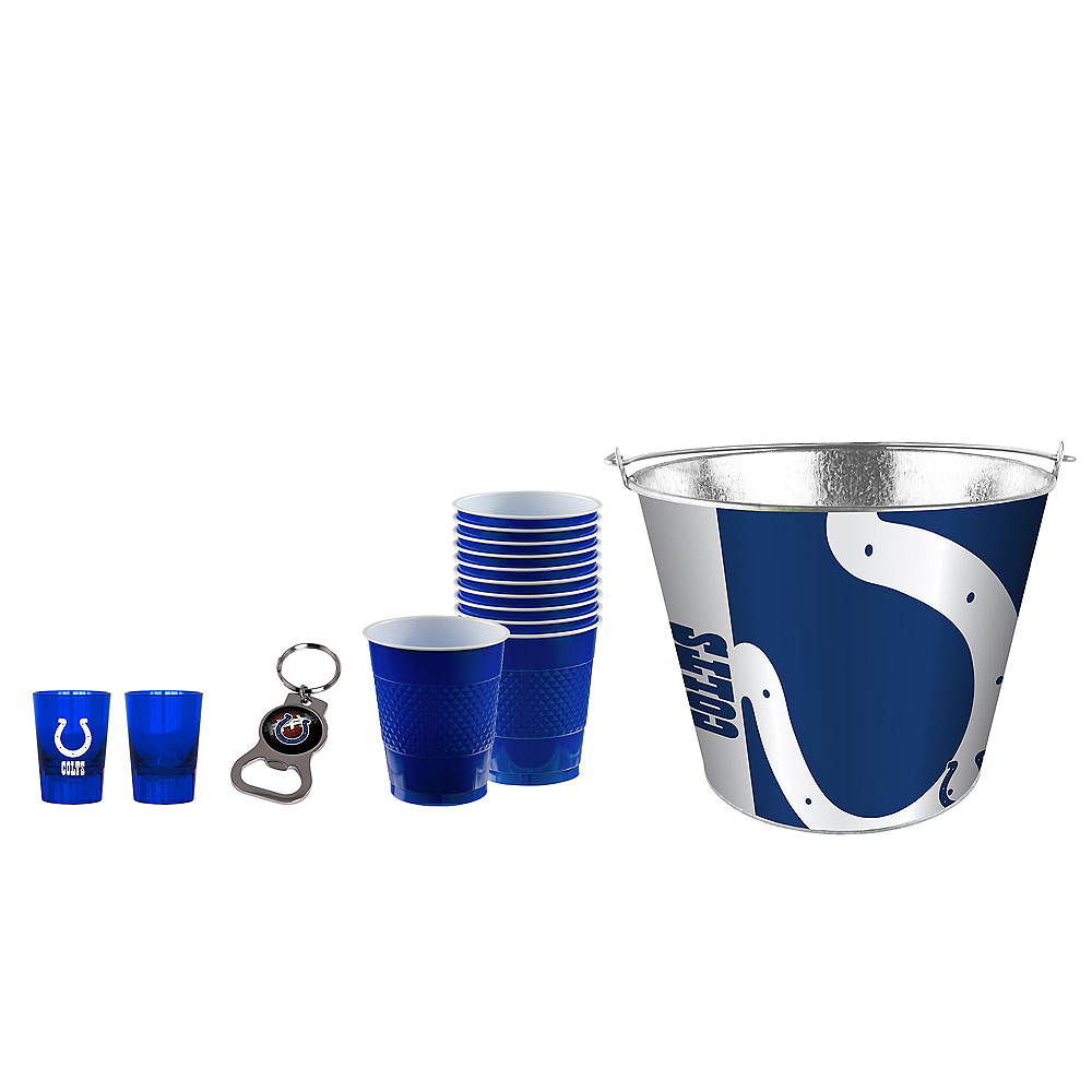 Indianapolis Colts Drinkware Tailgate Kit Image #1