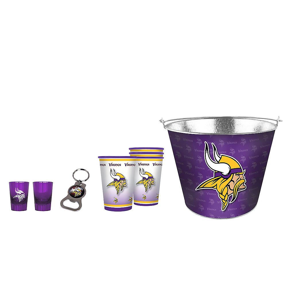 Minnesota Vikings Drinkware Tailgate Kit Image #1