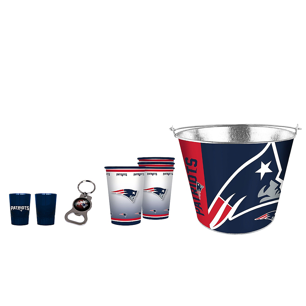 New England Patriots Drinkware Tailgate Kit Image #1