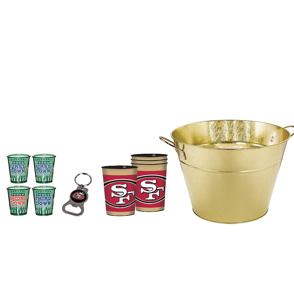San Francisco 49ers Drinkware Tailgate Kit Image #1
