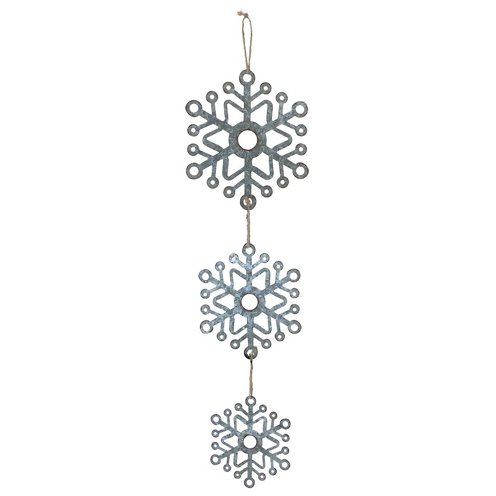 Dangling Snowflakes Trio Image #1