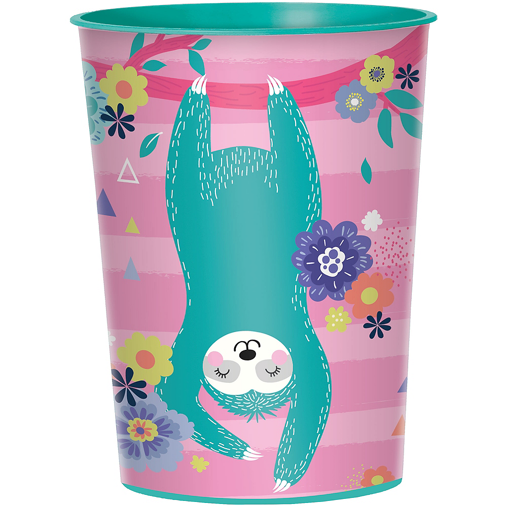 Sloth Party Favor Cup Image #1