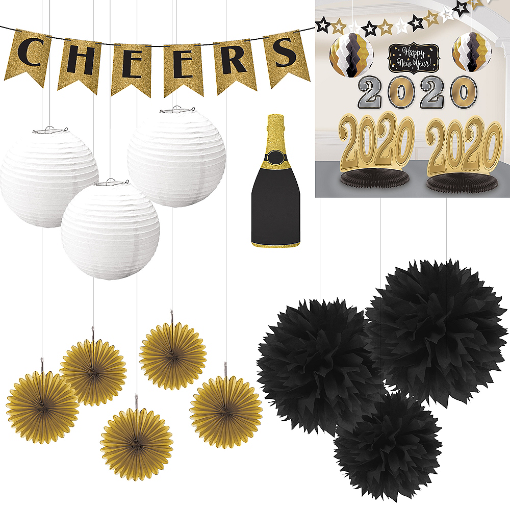 Cheers to 2020 New Year's Eve Table Decorating Kit Image #1