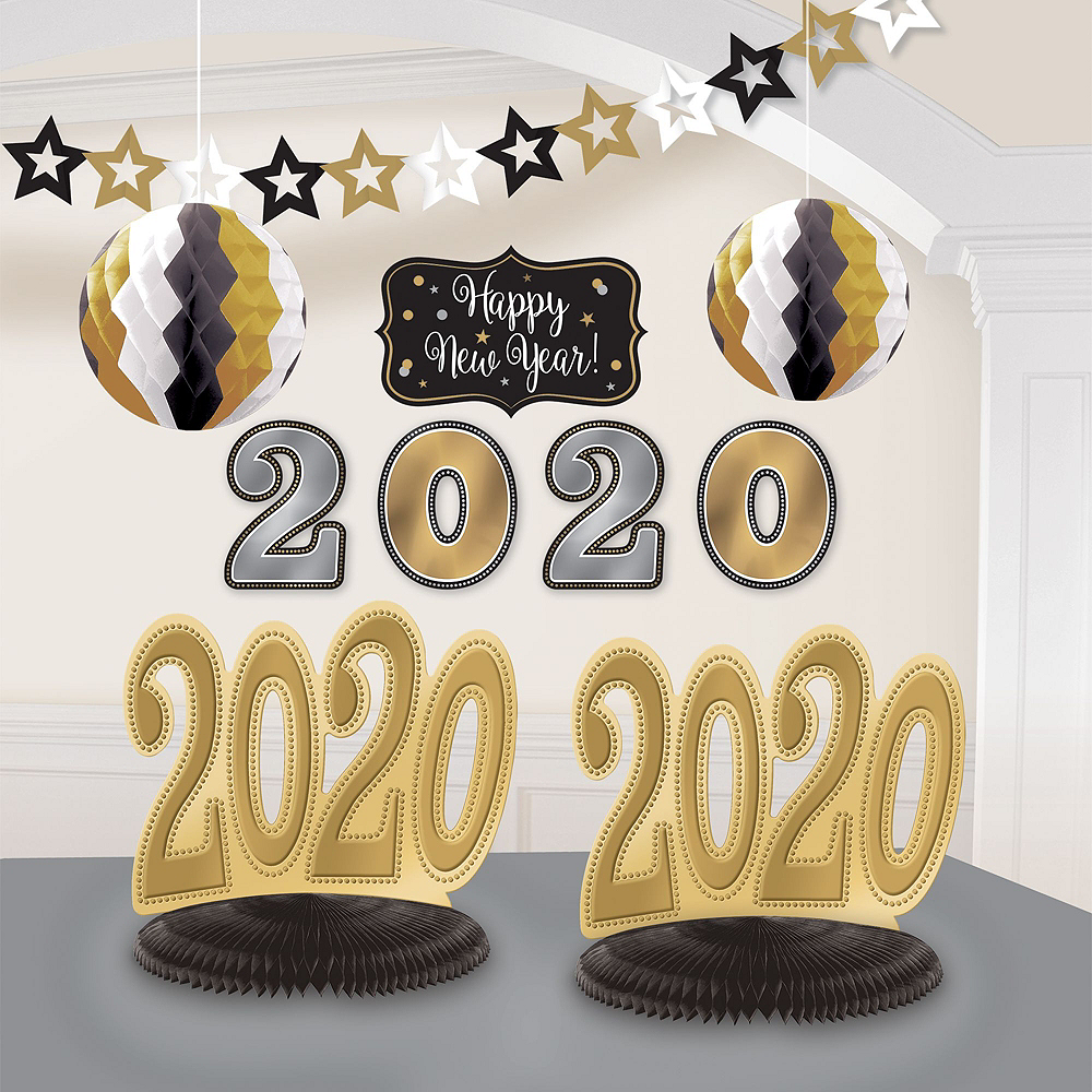 Cheers to 2020 New Year's Eve Table Decorating Kit Image #3