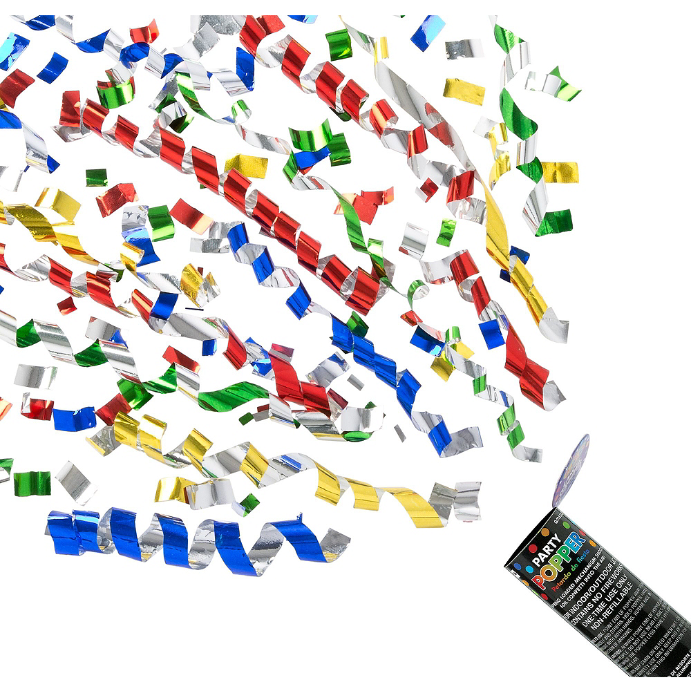 New Year's Eve Confetti Popper Kit Image #2