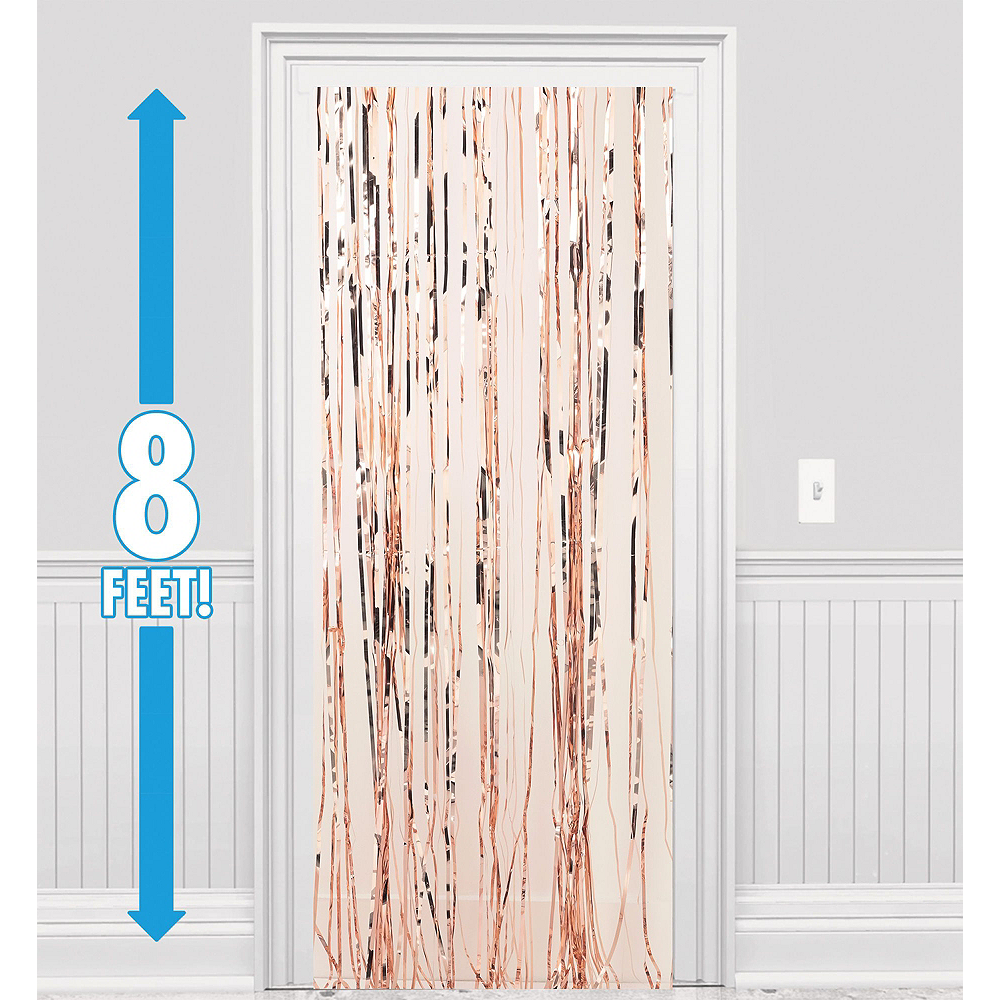 Rose Gold New Year's Eve Balloon Backdrop Kit Image #6