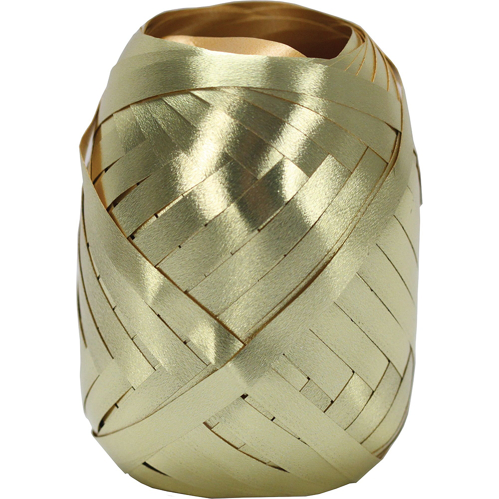 Air-Filled Gold Champagne New Year's Eve Balloon Kit Image #4