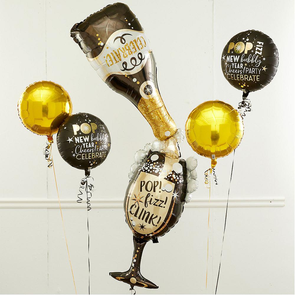 Bubbly Celebration New Year's Eve Balloon Kit Image #1