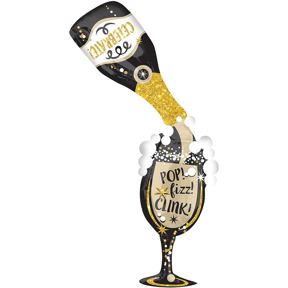 Bubbly Celebration New Year's Eve Balloon Kit Image #3