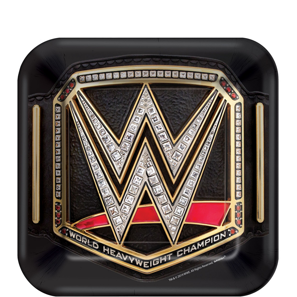WWE Champion Tableware Kit for 8 Guests Image #2