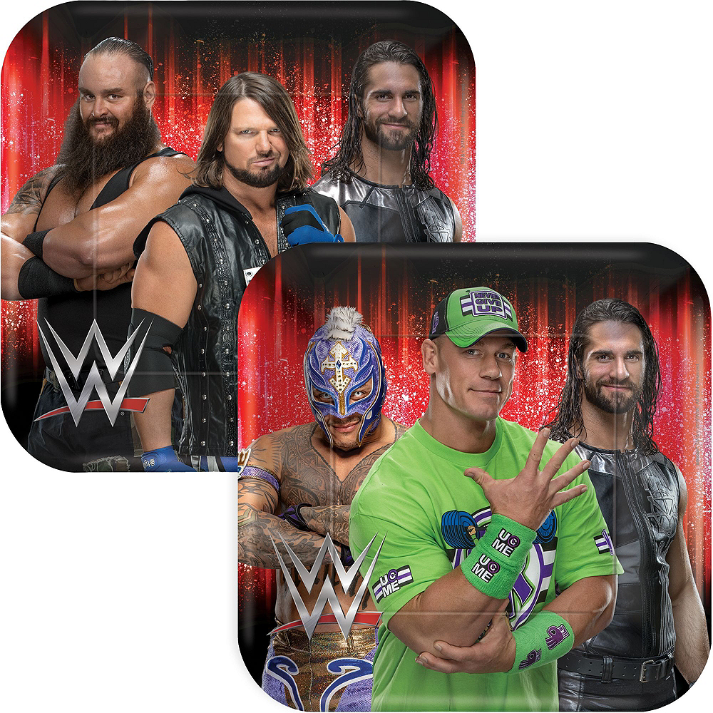WWE Champion Tableware Kit for 8 Guests Image #3