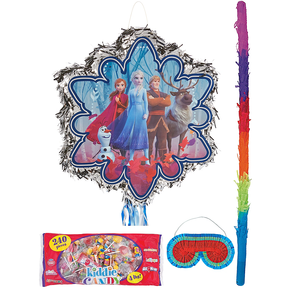 Frozen 2 Pinata Kit with Candy Image #1