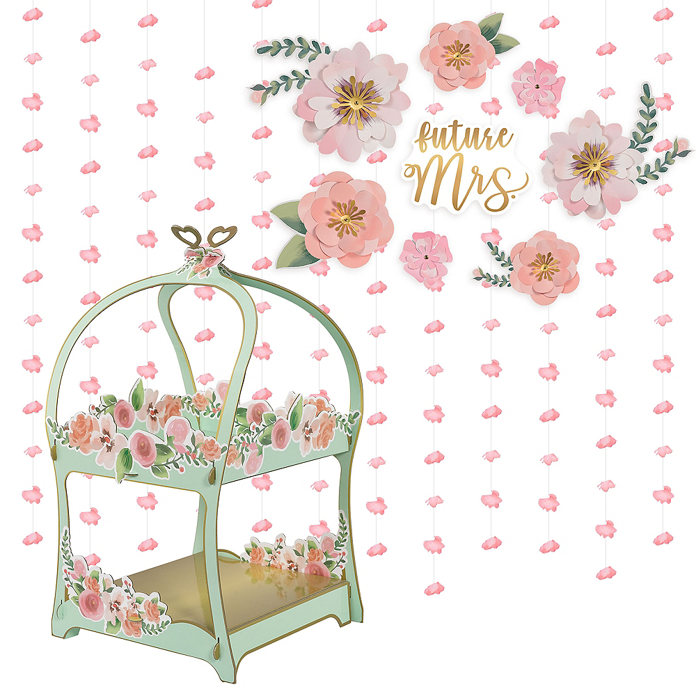 Mint to Be Bridal Shower Table Decorating Kit Image #1