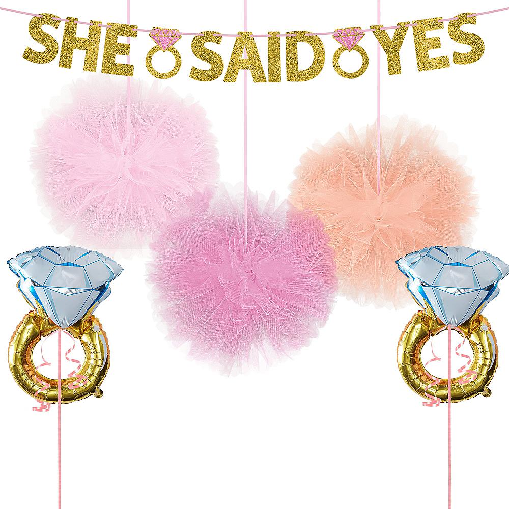 She Said Yes Bridal Shower Decorating Kit Image #1